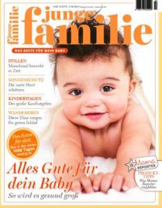 Junge Familie Zeitschrift Cover